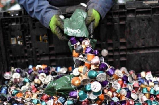 Reciclaje de las cápsulas