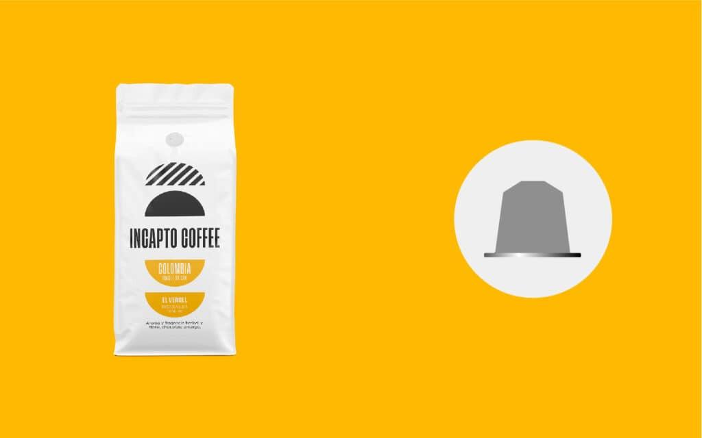 Équivalence des capsules de café Colombie